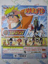 Anime Comic Naruto Swing Part 1 Gashapon Toy Machine Paper Card Bandai Japan