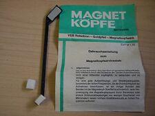 5 Magnetköpfe Magnetkopf Servicestab Tonkopfreiniger DDR Robotron RFT Tonband