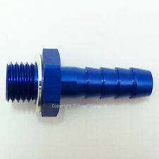 M12x1.0 METRIC to 7mm 8mm (5/16) BARB PUSH HOSE TAIL Straight Oil Fuel Adapter
