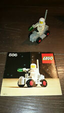 Lego Vintage Classic Space 886 Space Buggy W/ Minifigs & Instruction