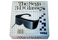 # ORIGINAL sega 3d Glasses dans son emballage d'origine pour master system 1/MS 1-top #