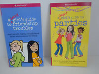 "American Girl ""A SMART GIRL'S GUIDE TO PARTIES & FRIENDSHIP TROUBLES"" - New"