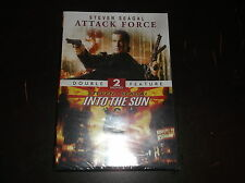 ATTACK FORCE & INTO THE SUN DOUBLE FEATURE DVD MOVIE STEVEN SEAGAL NEW SEALED