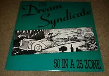 "Dream Syndicate 50 in a 25 Zone 2 mixes US 12"" vinyl record album ALTERNATIVE"