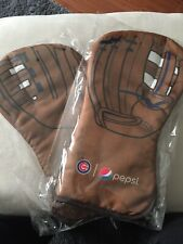 Chicago Cubs pair of oven mitts New still In plastic wrap