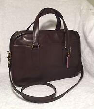 Vintage COACH Skinny Flight Bag, Doctor Satchel, 9706, Brown, Made in NYC