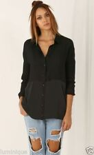 Women's Casual Long Sleeve Sleeve Button Down Shirt Tops & Blouses
