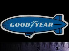 Vintage Goodyear Auto Racing Decal Sticker Collectible