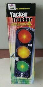 Yacker Tracker Original by AGI - Traffic Light Adjustable Sound Monitor Alarm