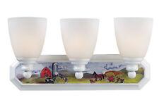 Landmark Lighting Kidshine On The Farm Bath 3-Light Vanity Light