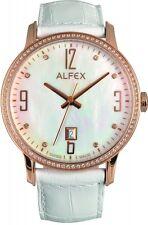 Alfex Damenuhr 5670/787 Quarz Schweizer Qualität UVP 565 EUR