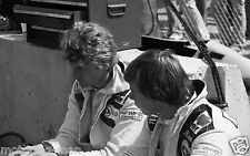 Didier Pironi Jean Pierre JABOUILLE TYRRELL LONG BEACH US GRAND PRIX Fotografia