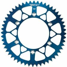 Fly Racing Aluminum Blue Motorcycle Chains, Sprockets and Parts
