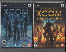 XCOM Enemy PC Combo 2 games Enemy Unknown  and Enemy Within expansion