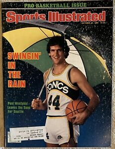 10.20.1980 PAUL WESTPHAL Sports Illustrated SEATTLE SUPERSONICS - PRO BASKETBALL