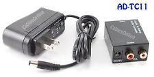Digital Toslink & Coax to Analog 2-RCA Audio Converter