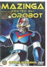 MAZINGA CONTRO GLI UFO ROBOT EDIZIONE RESTAURATA DVD
