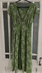 Dickens And Jones Size 12 Green Summer Dress