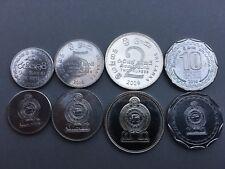 Pièces monnaies SRI LANKA CEYLON Lot 4 pièces (2016) 1, 2, 5, 10, NEUVES UNC NEW