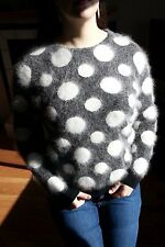 "NWT 36"" Angora Sweater by H&M! FUZZY Fluffy and Soft!"