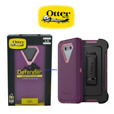 OtterBox Defender Rugged Hard Case w/Holster Belt Clip For LG G6 (Purple/Pink)
