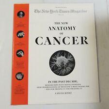 New York Times Magazine May 15 2016 Anatomy of Cancer M4