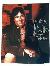 Battlestar Galactica Richard Hatch Signed 8x10 photo autograph