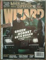 WIZARD COMICS MAGAZINE #228 August 2010 Sealed, Green Hornet cover