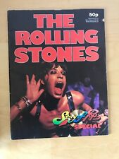 THE ROLLING STONES Story of Pop Magazine 1974