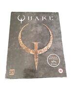 Quake IBM PC CD-ROM Big Box ID Software Shooter Video Game Retro Untested