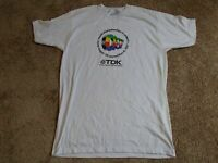 Vintage TDK 1987  World Championship in Athletics T-Shirt - Sz XL - See Pics!