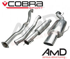 "Cobra Sport Astra G Gsi Turbo 3.0 ""resonó Turbo posterior de escape con que el que"
