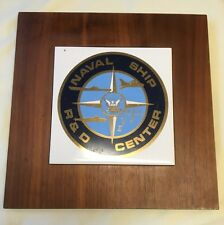 US NAVY USN Naval Ship Center Plaque Research and Development Center