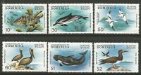 STAMPS-DOMINICA. 1979. Marine Wildlife Set. SG: 660/65. Mint Never Hinged.