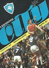 Leicester City v Newcastle United - Div 1 - 29/4/1978 - Football Programme