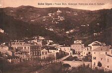 CARTOLINA DI CALICE LIGURE - PIAZZA DOTT. GIUSEPPE CESIO - VIAGGIATA 1917 C4-K92