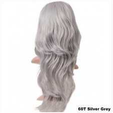 """25"""" Long Superior Thick Layered Wavy Half Head Wig 3/4 Weave 265gms (G2)"""