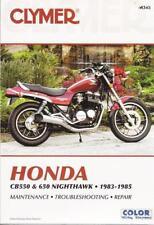 1983 1984 1985 Honda CB550 CB650 Nighthawk Repair Service Workshop Manual M345
