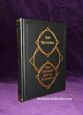 ARS NOTORIA: The Notary Art of Solomon by Frederick Hockley, LIMITED, Grimoire