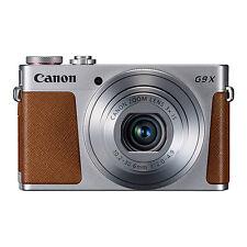 Canon PowerShot G9X 20.2MP Digital Camera 3xOptical Zoom Silver Full-HD WiFi/NFC