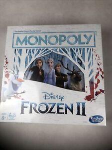 Monopoly Frozen 2 Disney New Sealed In Box