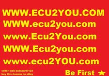 www.ECU2YOU.COM DOMAIN FOR SALE - SMART CHOICE IN CAR AUTO PARTS SPARES BUSINESS