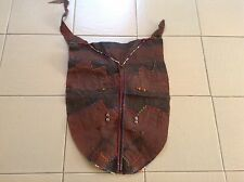 African-Arena Handmade Antique Saburu Skirt Muthuru Back Side Goat Skin