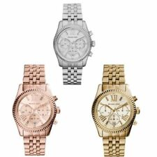 Relojes de pulsera Michael Kors Michael Kors Lexington de acero inoxidable