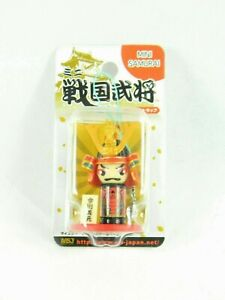 Mini Samurai figure samurai Charm Mascot Cell Phone charm Strap from Japan New