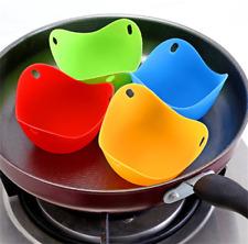 4PCS Poached Egg Cup Egg Boiler Food Cooker Kitchen Tool Egglettes Egg Cooker