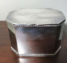 Vintage William Adams Silver Plated Made In England 60477 British Box Beautiful
