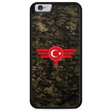 iPhone 6 6s Hülle SILIKON Case Türkiye Türkei Camouflage Militär Military Cover