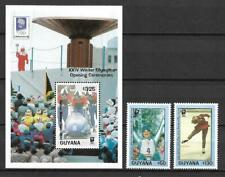 Guyana - Olympic Games 1994 / Sport - Block + Set - VF MNH **  (A3092)