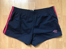 Vintage Mens Adidas Running Shorts 3 Stripes Track Size Medium